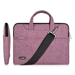 Qishare Laptop Case, Laptop Shoulder Bag, Multi-Functional N