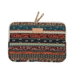 KAYOND Laptop case, Boheme Style Canvas Fabric Pouch for 35.