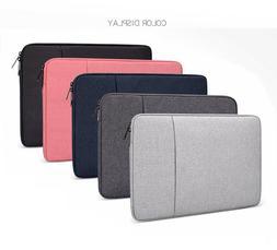 Laptop Case Sleeve Bag Carry Case 2 Pockets For Dell Latitud
