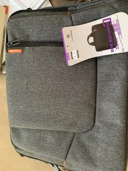 laptop computer case with sleeve shoulder strap