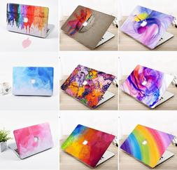 "Laptop Hard Shell Case Cover For Macbook Air Pro 11"" 13"" 15"""