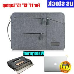 Slim Waterproof Laptop Sleeve Case Carry Cover Bag for 11/13