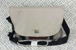 "Smash Laptop Messenger Bag Gray Brown Mochila Bag 15"" Laptop"