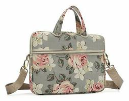 Laptop Messenger Women Bag 15.6 Stylish Zippered Handle Slee