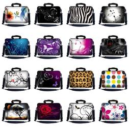 Laptop Notebook Case Sleeve Computer Messenger Bag with Pock