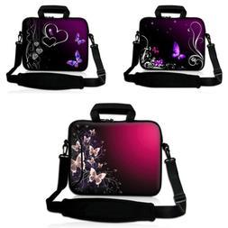 Laptop Notebook PC Sleeve Case Messenger Shoulder Cover Carr
