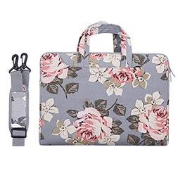 MOSISO Laptop Shoulder Bag Compatible 13-13.3 Inch MacBook P