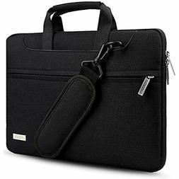 Hseok 3-Way 13.3 Inch Laptop Shoulder Bag Brifecase Water-Re