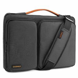 Laptop Shoulder Bag Briefcase Protective Sleeve Case 15.6 In