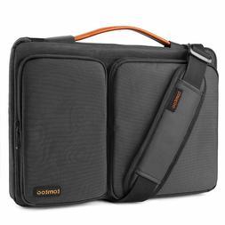 Laptop Shoulder Bag Briefcase Protective Sleeve Case 15.6 In