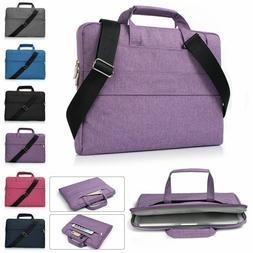 Laptop Shoulder Bag Sleeve Bag Carry Handbag Case For MacBoo