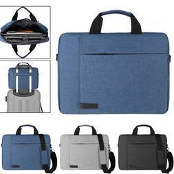 """Laptop Shoulder Messenger Bag Case Cover For 15.6"""" Dell Insp"""