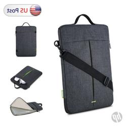 "Laptop Shoulder Messenger Bag Case For 14"" HP Pavilion 14 13"