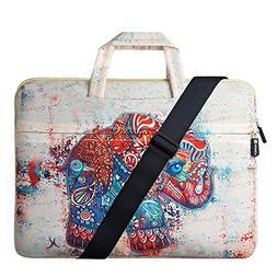 HESTECH 14-15.6 Inch Laptop Sleeve, Carrying Case Handbag Co