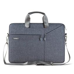 15.6 Inch Laptop Shoulder Bag Slim, EKOOS Laptop Sle