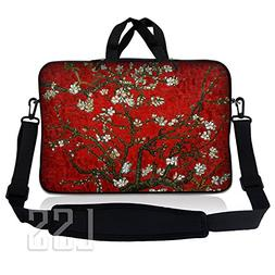 LSS 14.1 inch Laptop Sleeve Bag Carrying Case Pouch w/ Handl
