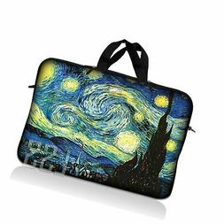 LSS 15.6 inch Laptop Sleeve Bag Carrying Case Pouch with Hid
