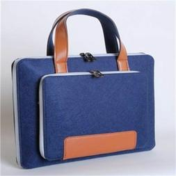 Laptop Sleeve Bags Case Wool Felt Briefcase Hand Macbook Not