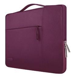 MOSISO Laptop Sleeve Briefcase Handbag Compatible 15-15.6 In