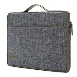 DOMISO 15.6 Inch Laptop Sleeve Canvas Notebook Portable Carr