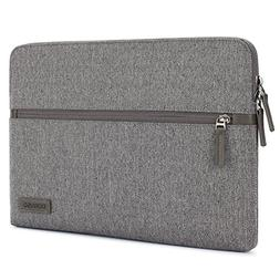 DOMISO 13.3 Inch Laptop Sleeve Canvas Tablet Pouch Bag for 1