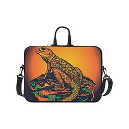 Laptop Sleeve Case 11 11.6 Inch Ornate Lizard Reptile Resist