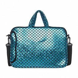 Laptop Sleeve Case 14 Inch Shoulder Carrying Bag Mermaid Wom