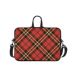 Laptop Sleeve Case 15 15.2 Inch Traditional Scottish Tartan