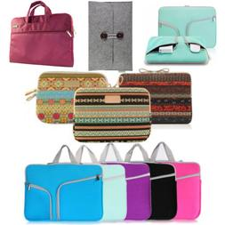 Laptop Sleeve Case Bag Pouch For MacBook Pro/Air HP Dell Ace
