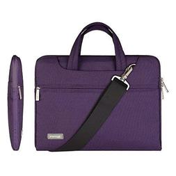 """Qishare 11.6-12"""" Laptop Sleeve Case Briefcase Pouch Messenge"""
