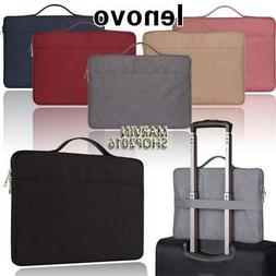 Carrying Laptop Sleeve Pouch Case Bag For Various Lenovo IdeaTab//Miix//ThinkPad