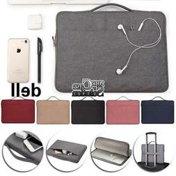 """Laptop sleeve Case Carry Bag Pouch For Various 11.6"""" 12.5"""" D"""