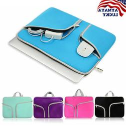 Laptop Sleeve Case Carry Bag for Macbook Pro//Air Dell Sony HP 11 12 13 14 15Inch