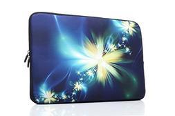 YIDA 15-15.6 Inch Laptop Sleeve Case Handle Bag Neoprene Cov
