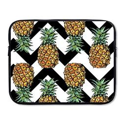 Laptop Sleeve Case Protective Bag Waves Pineapple Printed Ul