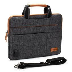 """DOMISO Laptop sleeve case Shoulder Macbook Bag for 10"""" 12.5"""""""