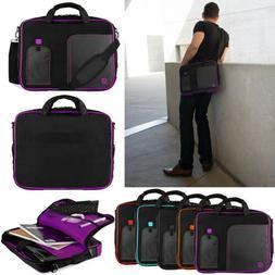 laptop sleeve case shoulder messenger bag