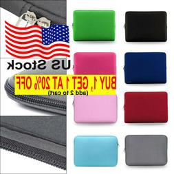 Laptop Sleeve Case Soft For Apple MacBook Lenovo HP Dell Asu