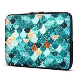 Holilife Laptop Sleeve Mermaid Scale, Neoprene Elegant Prote