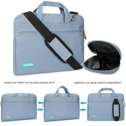 Laptop Sleeve Zipper Bag Case Carrying Handle Bag For 15.6in