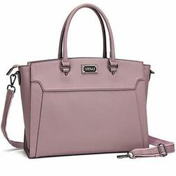 IAITU Laptop Tote Bag,15.6 Inch Women Elegant Laptop Bag Tab