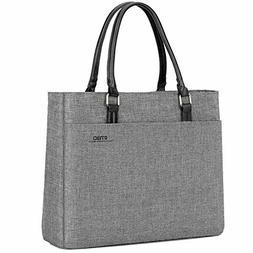 DTBG Laptop Tote Bag, 15.6 Inch Women Shoulder Bag Nylon Bri