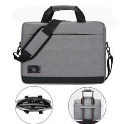 """VanGoddy Laptop Travel Shoulder Bag Carry Case For 15.6"""" Del"""