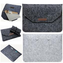 Laptop Wool Felt Sleeve Case Cover Bag For Apple Mac Air Mac