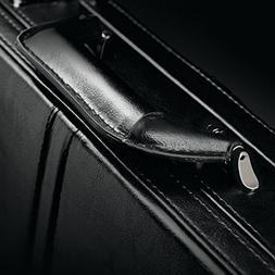 Leather Expandable Computer Attache