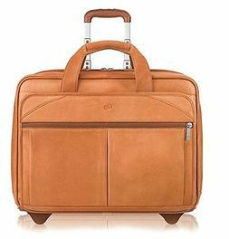 """Solo 15.4"""" Leather Laptop Case D529-1"""