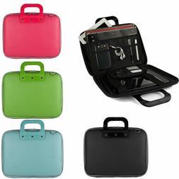 """SumacLife Leather Laptop Shoulder Bag Carry Case for 11.6"""" H"""