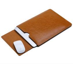 "For Lenovo IdeaPad 330s 15.6"" Laptop Case Leather Sleeve Pou"