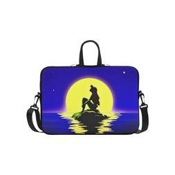 Little Mermaid Silhouette Sleeve Case Messenger Bag Laptop B