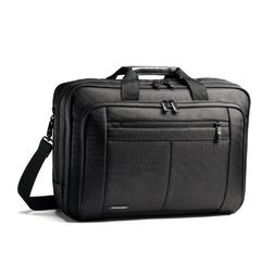 SAMSONITE LLC 15.6THREE GUSSET BRIEFCASE-CLASSIC 43270-1041